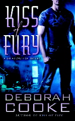 Kiss of Fury, the second Dragonfire novel, by Deborah Cooke