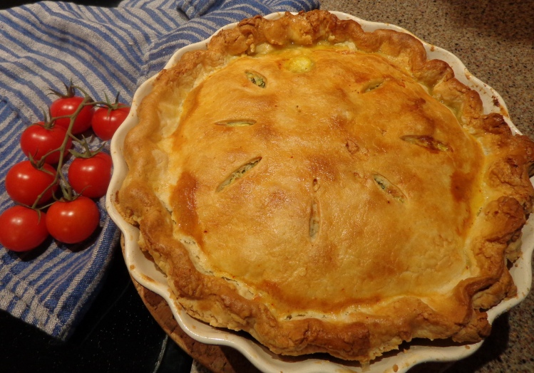 Chard tart baked by Deborah Cooke