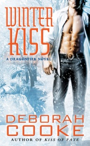 Winter Kiss, a paranormal romance and part of the Dragonfire series by Deborah Cooke