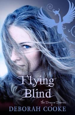 UK cover for FLYING BLIND by Deborah Cooke