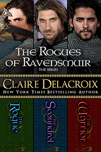 The Rogues of Ravensmuir Boxed Set of three medieval Scottish romances by Claire Delacroix