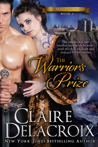 The Warrior's Prize, a medieval romance by Claire Delacroix and book #4 in the True Love Brides Series