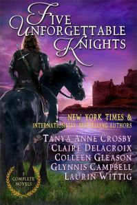 Five Unforgettable Knights, a digital boxed set of five medieval romances, available for a limited time and at a special price
