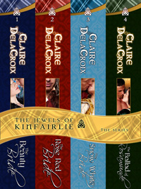 The Jewels of Kinfairlie digital boxed set of medieval romances, including the Ballad of Rosamunde, by Claire Delacroix