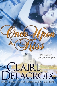 Once Upon a Kiss, a paranormal romance by Claire Delacroix (writing as Claire Cross)