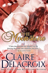 The Moonstone, a time travel romance by Claire Delacroix (writing as Claire Cross)