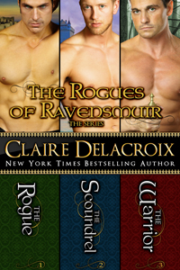 The Rogues of Ravensmuir digital boxed set of medieval romances by Claire Delacroix