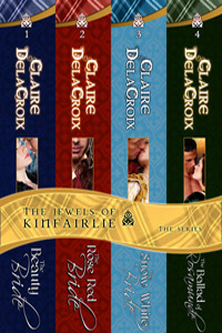 The Jewels of Kinfairlie Boxed Set of Scottish medieval romances by Claire Delacroix