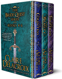 The Bride Quest II Boxed Set by Claire Delacroix
