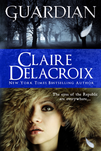 Guardian, book #2 of the Prometheus Project of urban fantasy romances by Claire Delacroix