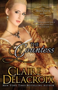 The Countess, book #1 in the Bride Quest II trilogy of Scottish medieval romances, by Claire Delacroix