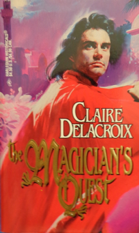 The Magician's Quest, book #2 of the Moorish Series of medieval romances and a shapeshifter romance by Claire Delacroix