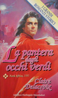 The Magician's Quest, book #2 of the Moorish Series of medieval romances and a shapeshifter romance by Claire Delacroix, first Italian edition