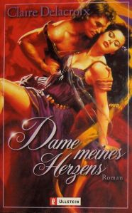 The Damsel, book #2 of the Bride Quest trilogy of medieval romances by Claire Delacroix, German edition