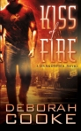 Kiss of Fire, first of the Dragonfire series of paranormal romances by Deborah Cooke