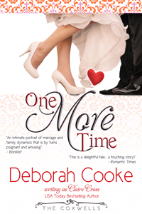 One More Time, book #3 in the Coxwell Series of contemporary romances, by Deborah Cooke