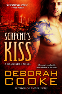 Serpent's Kiss, a paranormal romance and Dragonfire #10 by Deborah Cooke