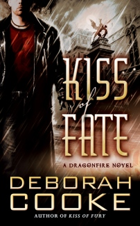 Kiss of Fate, #3 in the Dragonfire series of paranormal romances by Deborah Cooke