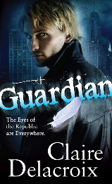 Guardian, book #2 of the Prometheus Project of urban fantasy romances by Claire Delacroix, out of print mass market edition
