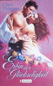 The Heiress, book #3 of the Bride Quest trilogy of Scottish medieval romances, German edition