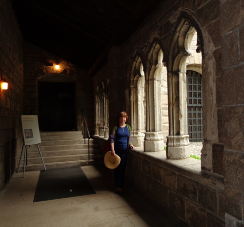 Claire Delacroix at the Cloisters