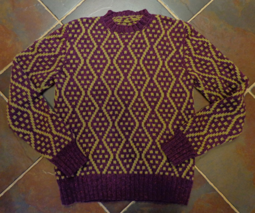 Balkan, a design by Brandon Mably, knit by Deborah Cooke