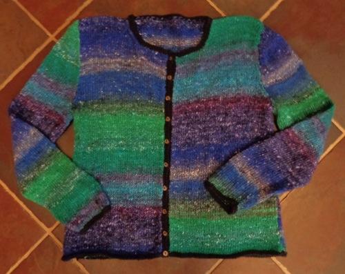 Noro Silk Garden #2 knitted by Deborah Cooke