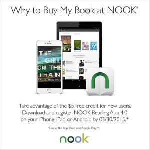$5 credit at Nook