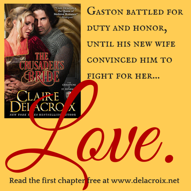 The Crusader's Bride by Claire Delacroix