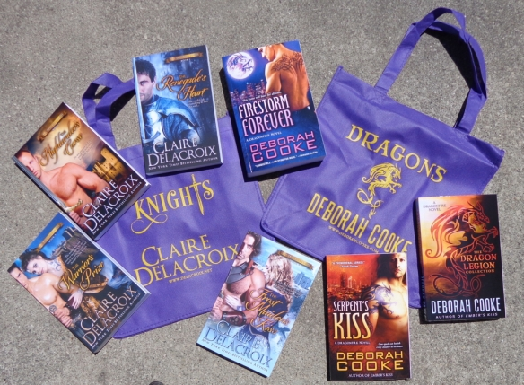 Promotional Tote Bag from Claire Delacroix and Deborah Cooke