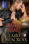 The Crusader's Heart by Claire Delacroix, a medieval romance and #2 in the Champions of Saint Euphemia series.