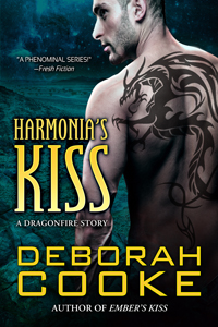 Harmonia's Kiss by Deborah Cooke, a Dragonfire story