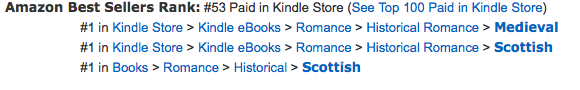 Highland Heroes #1 at Amazon