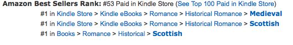 Highland Heroes #1 at Amazon