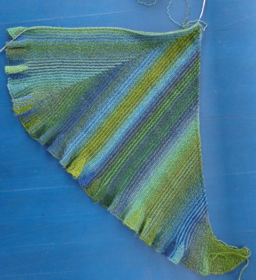 Mermaid Shawl by Deborah Cooke