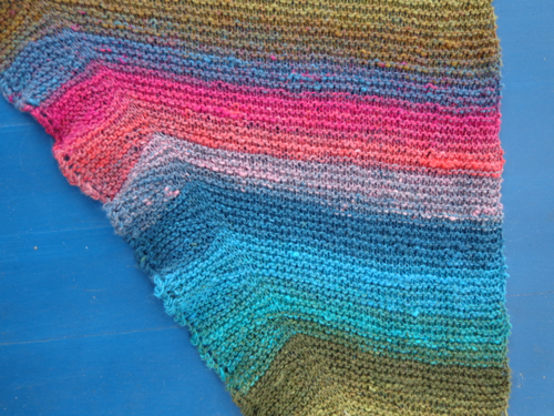 Detail of Undine Shawl by Deborah Cooke
