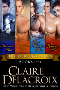 The True Love Brides Boxed Set of medieval romances by Claire Delacroix