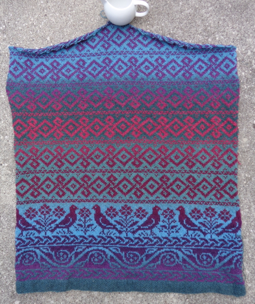 Roan, knit by Deborah Cooke in Kauni Effektgarn
