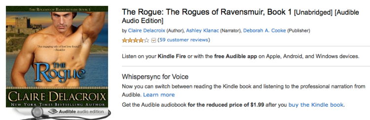 The Rogue in Audio for $1.99