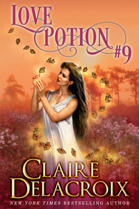 Love Potion #9, a paranormal romance and romantic comedy by Claire Delacroix