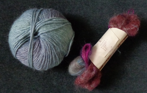stash yarn for the camellia