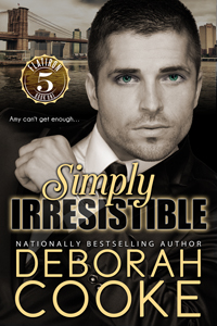 Simply Irresistible, a contemporary romance by Deborah Cooke and first in the Flatiron Five series.
