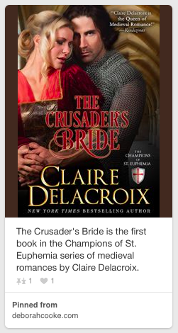 The Crusaders' Bride cover pinned from Deborah Cooke's website