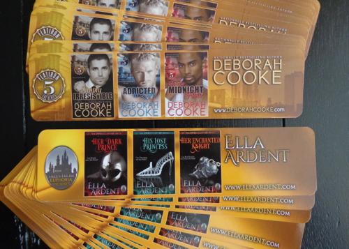 Bookmark for Deborah Cooke's Flatiron Five and Ella Ardent's Tales of Euphoria