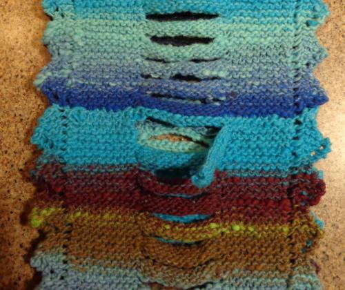 Noro Braid Cowl knitted by Deborah Cooke