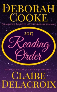 2017 Reading Order Guide for books by Deborah Cooke and Claire Delacroix