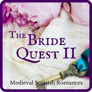 The Bride Quest II, a series of medieval Scottish romances by Claire Delacroix