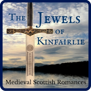 The Jewels of Kinfairlie, a series of medieval Scottish romances by Claire Delacroix