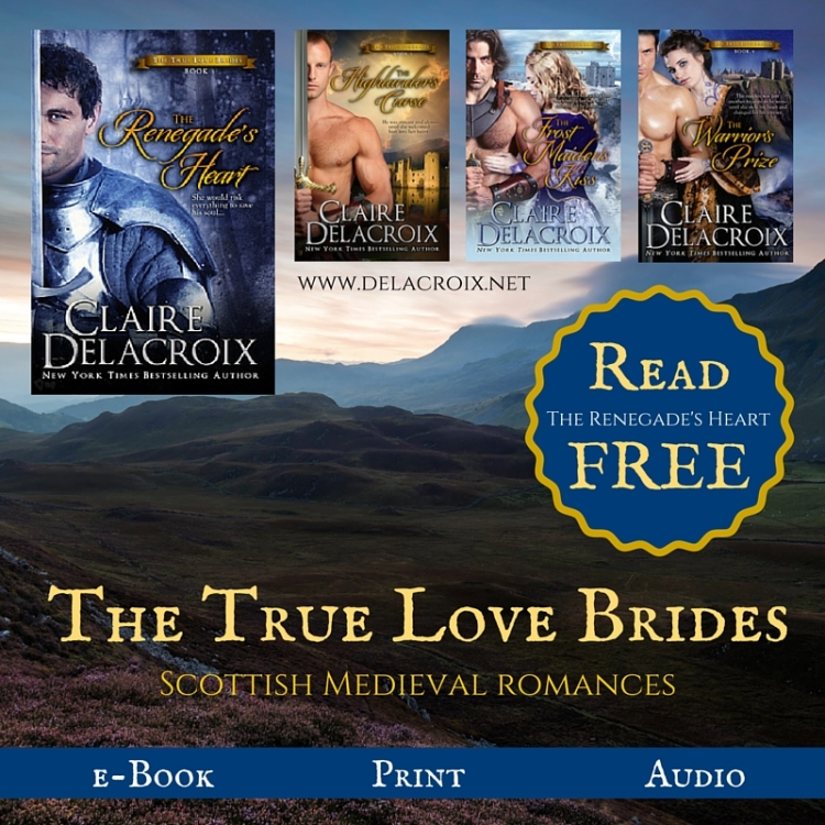 True Love Brides series by Claire Delacroix