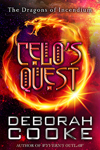 Celo's Quest, a short story and #8 of the Dragons of Incendium series of paranormal romances by Deborah Cooke